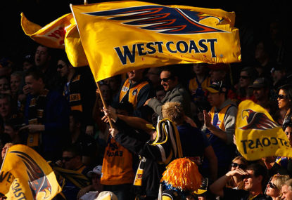 18 footy theme songs in 18 days: #17 'We're the Eagles'