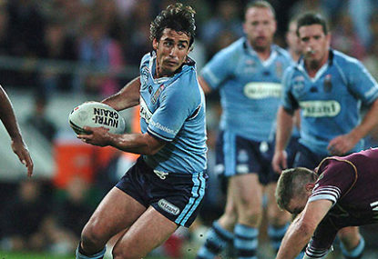 Reflections on State of Origin Game 2, 2005