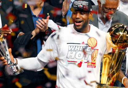 One big three to another: LeBron to team with Love?