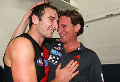 Red, black and a whole lot of grey for Essendon