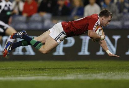 Lions' Hogg denies biting Boks' le Roux