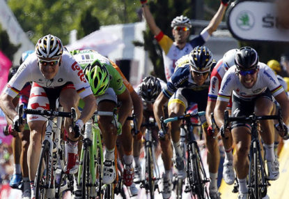 Orica-GreenEDGE continue to make history as Greipel wins Stage 6