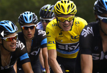 Froome's Melbourne visit will be pure gold all round
