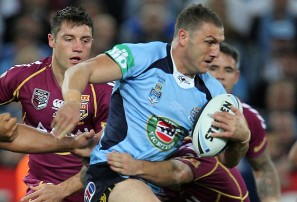 Robbie Farah makes another run during State of Origin Game 3