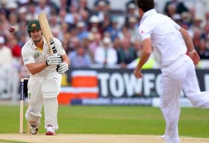 Watson should be dropped for the Fifth Test