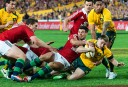 James O'Connor scores for the Wallabies (Tim Anger Photography)