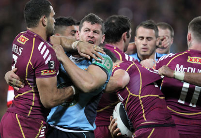Should Inglis play fullback for Maroons?