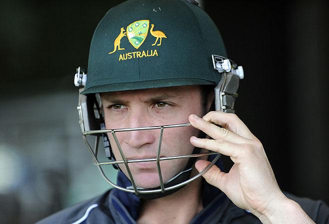 Australian cricketer Phil Hughes. (AAP Image/Dan Peled)