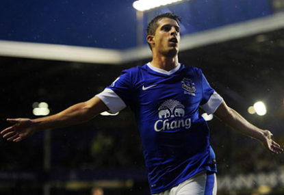 Everton looks for top four under Martinez
