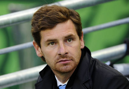 Andre Villas-Boas and his flyover run