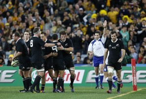 All Blacks hammer Wallabies 47-29 in Bledisloe Cup