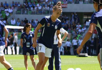 Matildas star Catley on life as a footballer