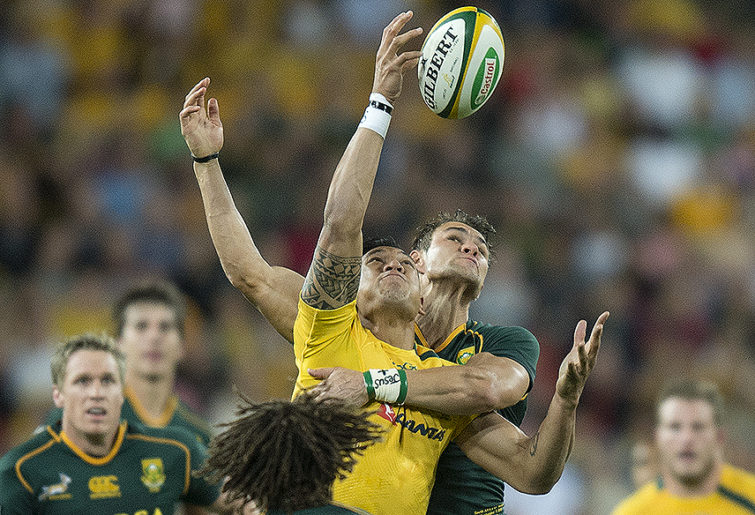 SPIRO: Wallaby boys get monstered by Springboks men