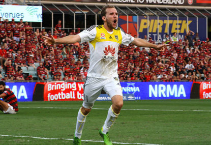 Wellington Phoenix vs Perth Glory: A-League live scores