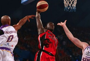 James Ennis dunking his way into Aussie hearts