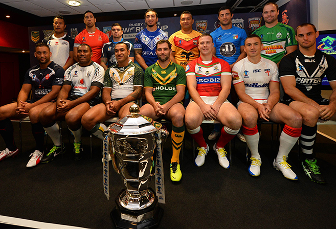 RLWC captains assemble before the 2013 tournament.