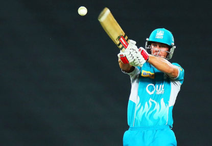 Heat vs Hurricanes: Hobart win despite century from Lynn