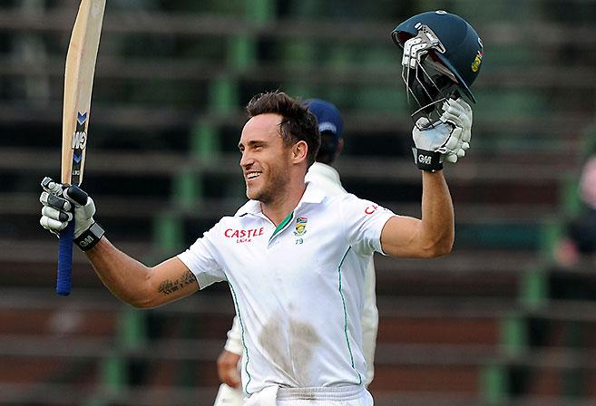 South African batsman Faf du Plessis