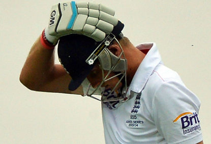 Role reversal as English batsmen collapse