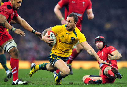 The Wallabies are stocked full of talent in the backline