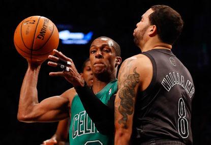 97c1c217b34 Rajon Rondo in his time with the Celtics.