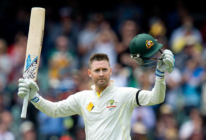 Australian captain Michael Clarke. (AAP Image/Dave Hunt)