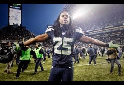 Bizarre tirade from Sherman overshadows Seattle's NFC win