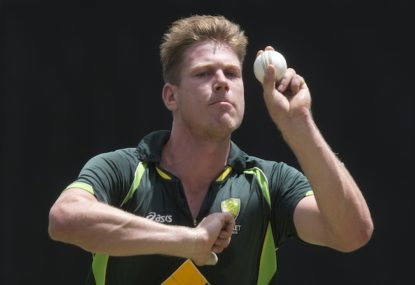 There is a James Faulkner-sized hole in Australian Cricket