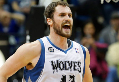 Kevin has fallen out of Love with the Timberwolves