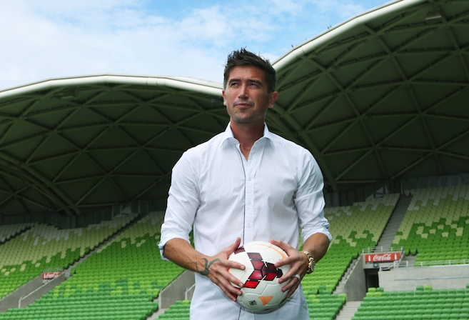 Melbourne Heart player Harry Kewell announces his retirement