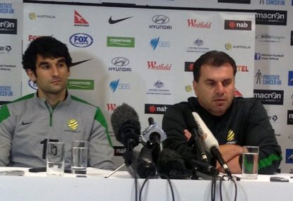 A bit of perspective is required for the Socceroos