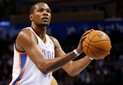 Could Kevin Durant make like LeBron and head 'home'?