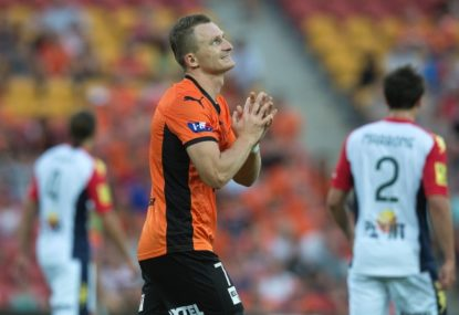 Brisbane Roar vs Melbourne Heart: A-League live scores