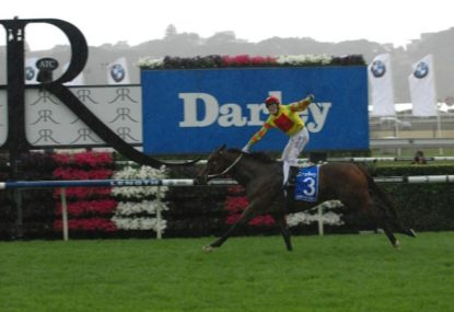 A golden opportunity missed for the Cox Plate? Take a lesson