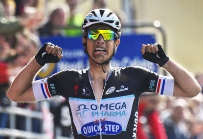 Terpsta's Roubaix win saves season for Omega Pharma-Quick Step