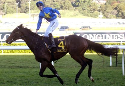 Did we see the 2014 Melbourne Cup winner on Saturday?