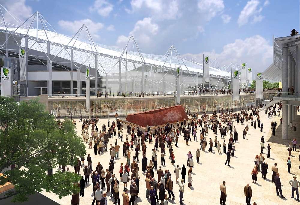 Artists impression of the refurbishment of Allianz Stadium. (Source: Supplied)