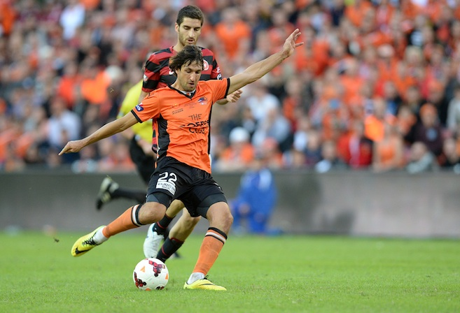 Brisbane Roar player Thomas Broich