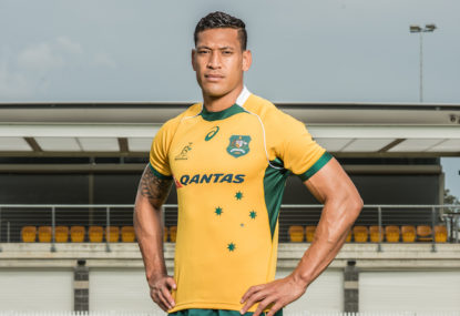 My Wallabies squad to face France in the first Test