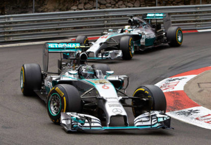Rosberg finally lands first blow in 2015