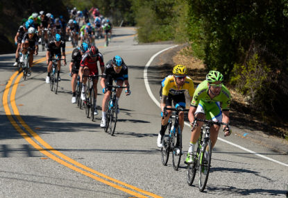 Tour of California proves that downhill rules can be broken