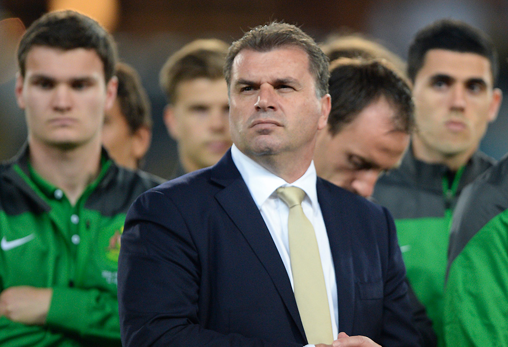 Ange Postecoglou and the Socceroos