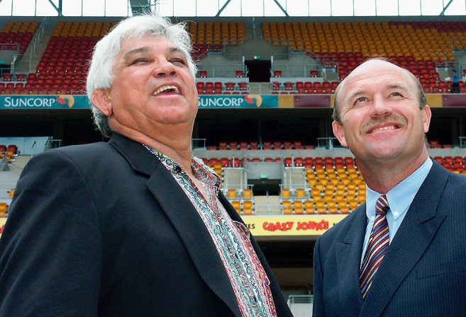 Artie Beetson and Wally Lewis