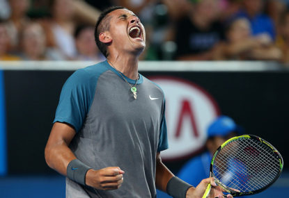Will the penny ever drop for Nick Kyrgios?