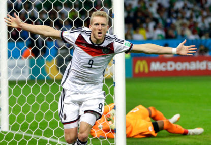 Germany's World Cup triumph 10 years in the making