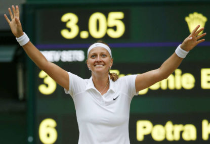 Kvitova is the latest victim in the history of violence against sportspeople