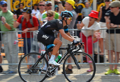 Porte's record on the Madone squeezes questions out of the punters