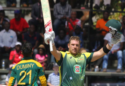 South Africa struggling to chase totals