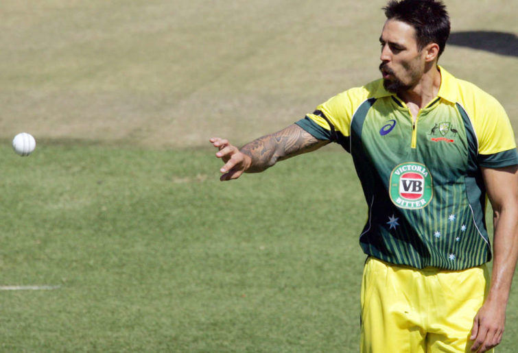 Australia's Mitchell Johnson