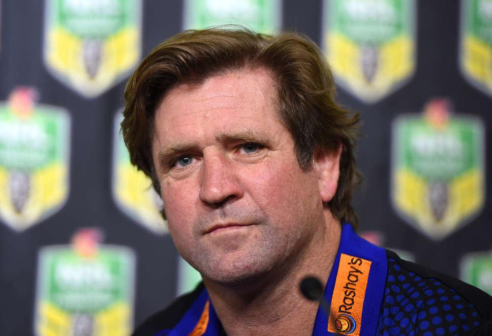Canterbury Bulldogs NRL coach, Des Hasler,